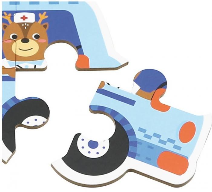 Set de 6 Puzzle-uri Vehicule [3]