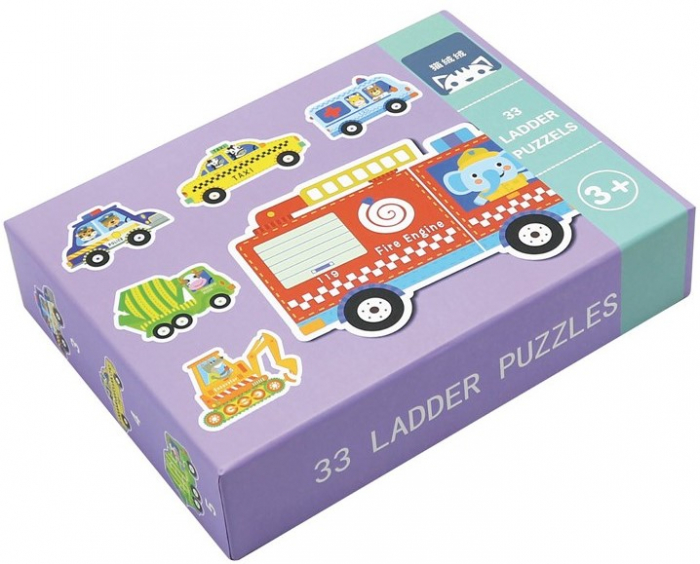 Set de 6 Puzzle-uri Vehicule [0]