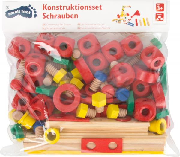 Set de construit Suruburile colorate 2