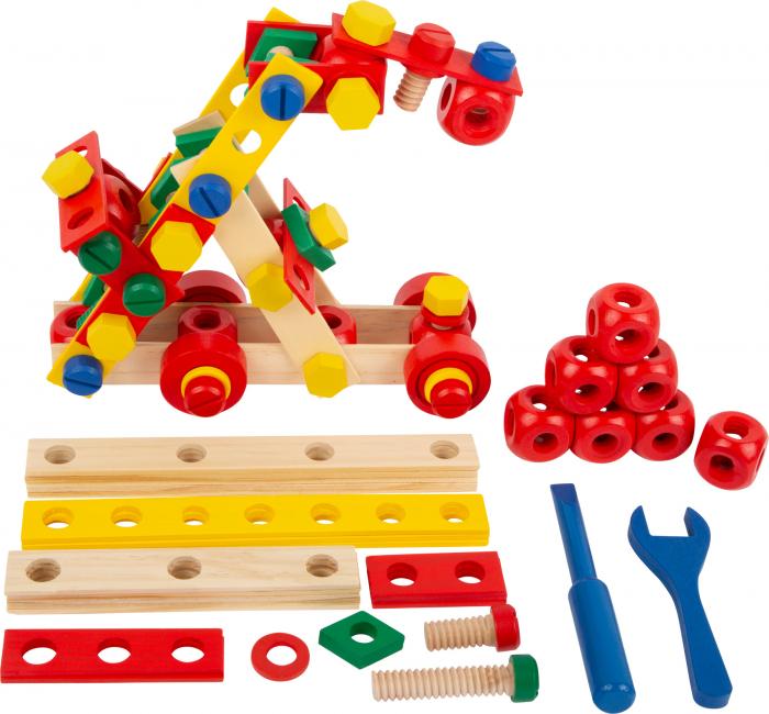 Set de construit Suruburile colorate 0