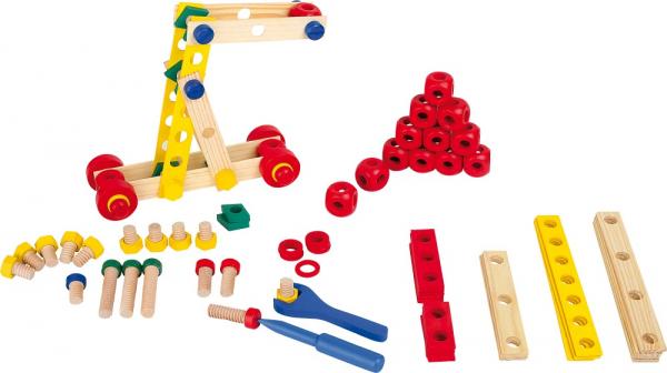 Set de construit Suruburile colorate 1