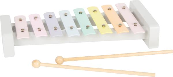 Set cadou instrumente muzicale in culori pastelate 2