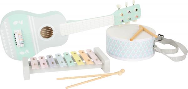 Set cadou instrumente muzicale in culori pastelate 0
