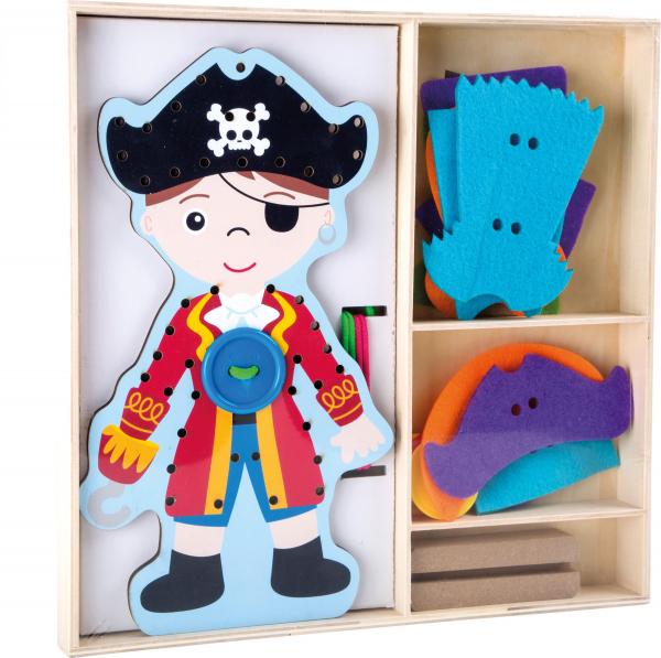 Joc de cusut Parada Modei pentru Pirati 1