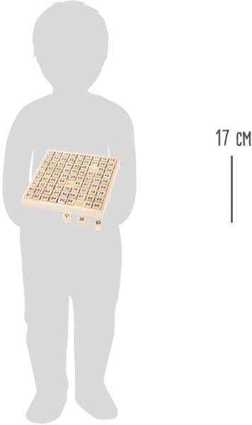 Tabla inmultirii din lemn 3