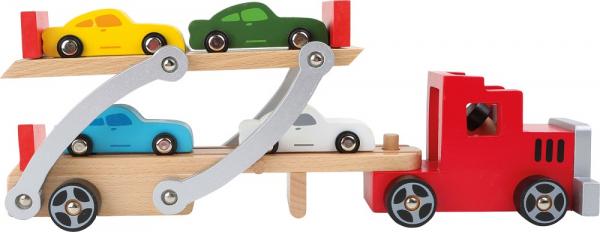 Trailer masini, din lemn [1]