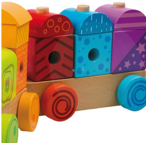 Trenulet multicolor cu sunete si lumina 2