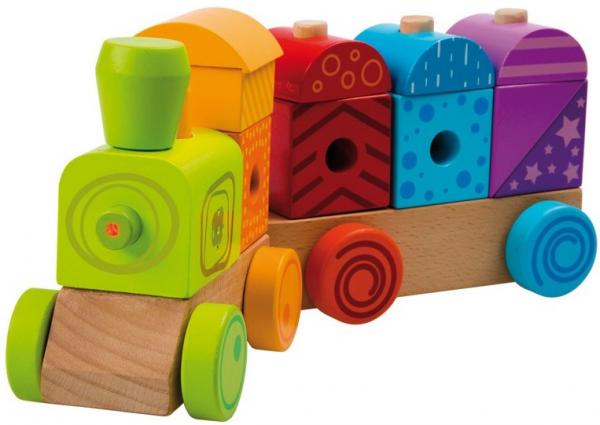 Trenulet multicolor cu sunete si lumina 0