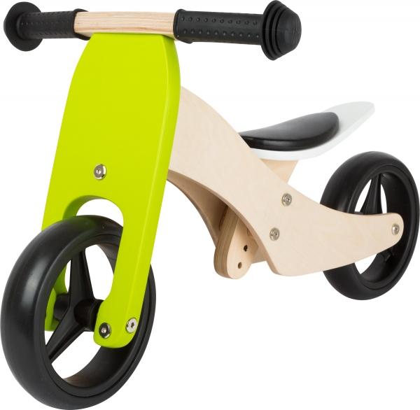 2 in 1 Tricicleta si Bicicleta din lemn 1