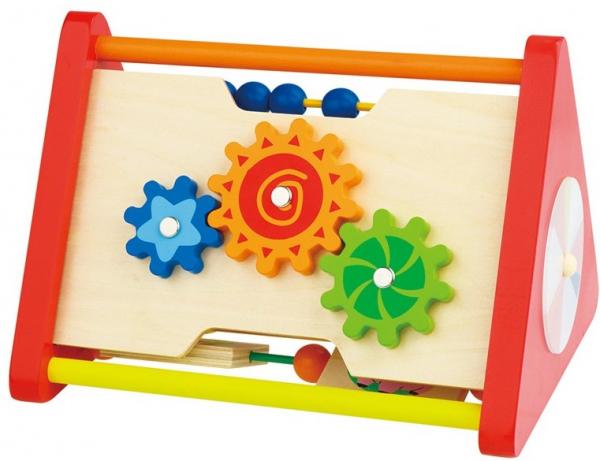Triunghiul din lemn cu activitati educative 1