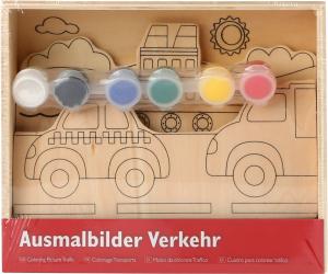 Set de pictat pe lemn Vehicule3