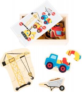 Set 5 puzzle-uri Utilaje constructie0