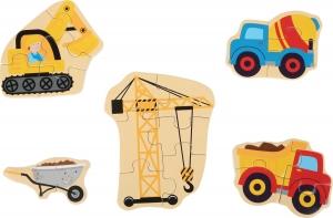 Set 5 puzzle-uri Utilaje constructie1