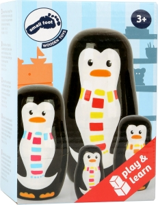 Familia de pinguini Matryoshka2