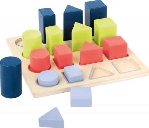 Forme si culori, puzzle 3D din lemn0