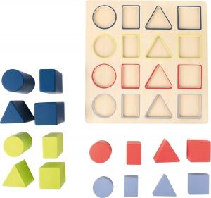 Forme si culori, puzzle 3D din lemn1