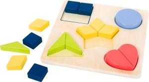 Puzzle educativ Potriveste Formele0