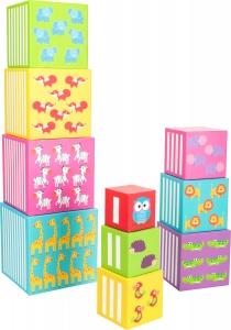 Cuburi de construit cu animale salbatice1