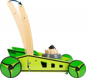 Antemergator Masina de Tuns Iarba si piramida din lemn5