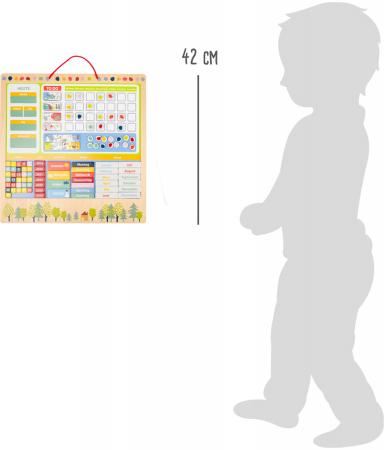 Calendar si planificator magnetic mare cu activitati [4]