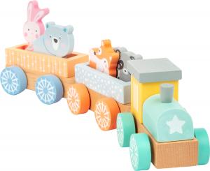 Trenuletul animalelor in culori pastelate3