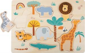 Puzzle lemn Safari1