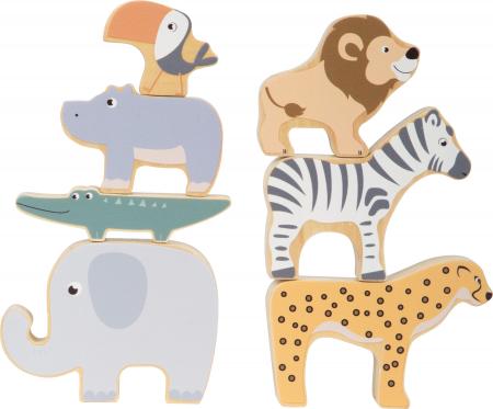 Stivuieste animalele, joc dexteritate din lemn [0]
