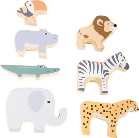 Stivuieste animalele, joc dexteritate din lemn [2]
