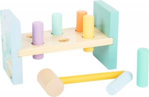 Bancuta de lovit in culori pastelate1