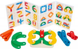 Sa construim cifrele si literele, joc educativ din lemn3