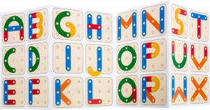 Sa invatam cifrele si literele, joc educativ din lemn2