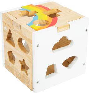 Cub sortator din lemn Curcubeu2