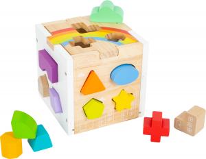 Cub sortator din lemn Curcubeu7