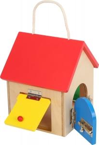 Casuta cu 4 incuietori Montessori4