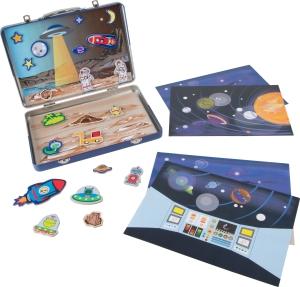Servieta cu puzzle magnetic Spatiul cosmic0