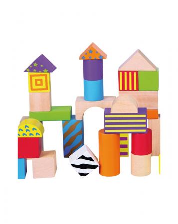 50 cuburi colorate din lemn in galetusa [5]