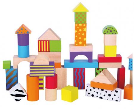 50 cuburi colorate din lemn in galetusa [4]