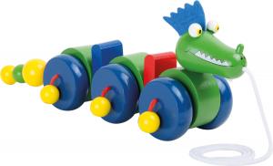 Jucarie de tras Dragonul verde0