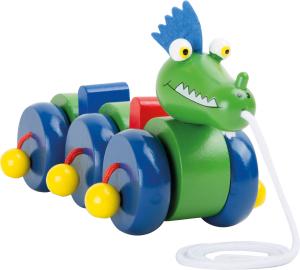 Jucarie de tras Dragonul verde1