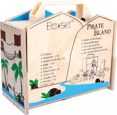 Insula piratilor, set de calatorie1