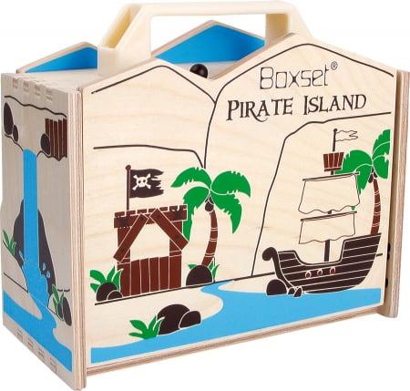 Insula piratilor, set de calatorie2