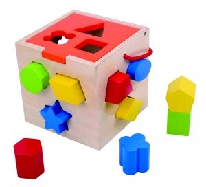 Cubul sortator cu forme0