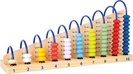 Abacul Colorat din lemn [0]