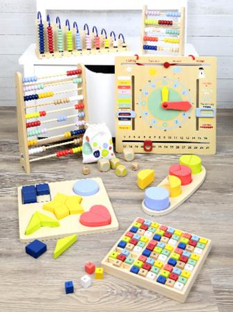 Abacul Colorat din lemn [4]
