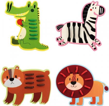 Animalele din savana,  joc de cusut2