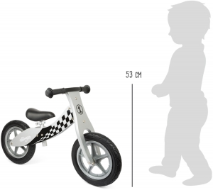 Bicicleta fara roti din lemn Racing2