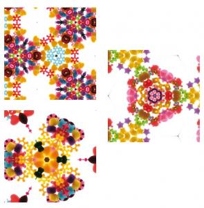 Caleidoscop colorat, kit de constructie [3]