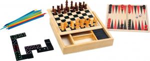 Colectia de 4 jocuri clasice din lemn0