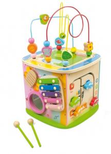 Cub educativ Mare cu 8 activitati Ma joc si invat (include xilofon) [0]