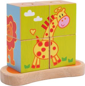 Cub Puzzle cu Animale0